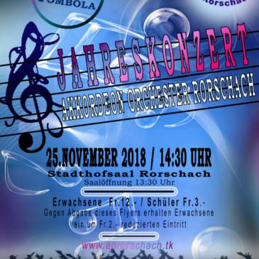 Jahreskonzert: Akkordeon Orchester Rorschach  🤗