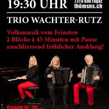 """Konzert Bad Ragaz """"Trio Wachter-Rutz"""""""