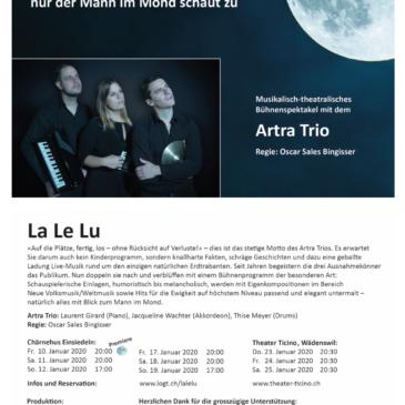 Neues Projekt: ARTRA TRIO